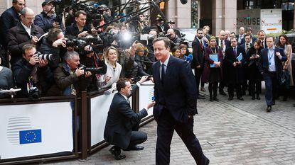 Cameron eist snel vooruitgang in hervormingen EU