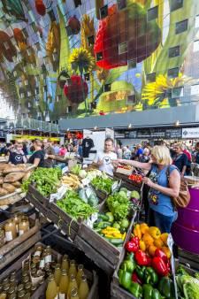 Hoeksche Waardse groenten pronken in de Markthal