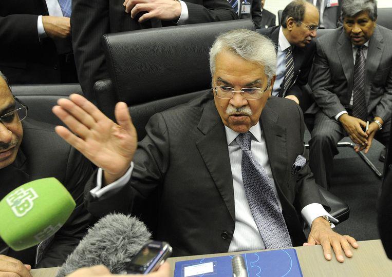 Olieminister Ali al-Naimi. Beeld EPA
