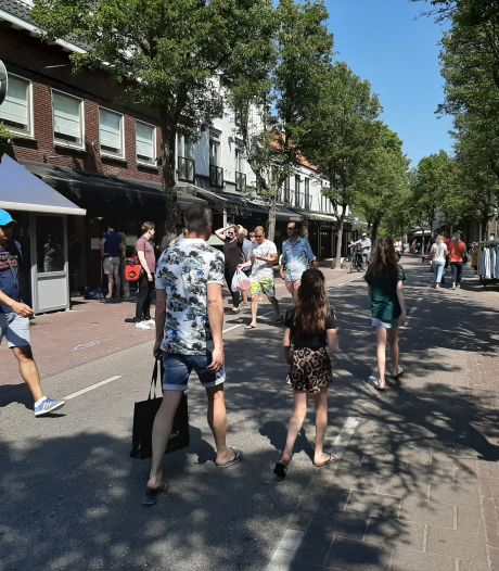 Met voetgangersgebieden geeft Veere het goede voorbeeld aan alle Zeeuwse trekpleisters