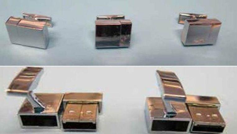 Samata Ullah sloeg allerhande 'nuttige tips' voor terroristen op in USB-sticks die hij omvormde tot manchetknopen.