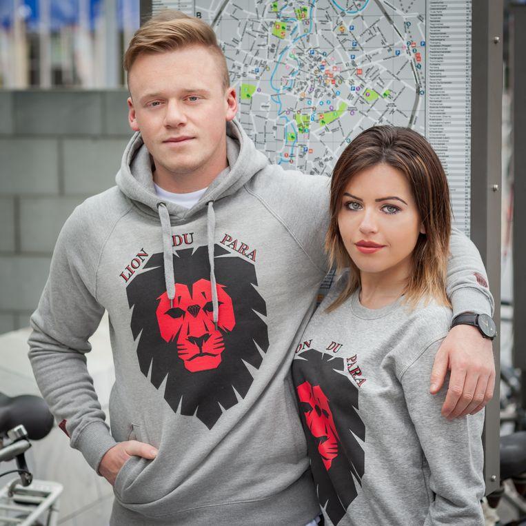 Kevin en Shelly poseerden samen voor het nieuwe merk www.liondupara.com.