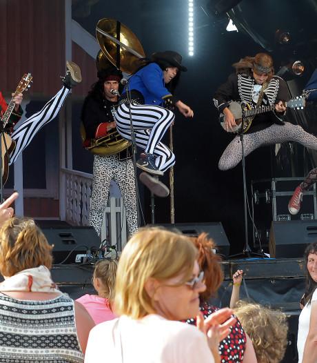 Blaas of Glory op festival Circus Vliet in Terhole