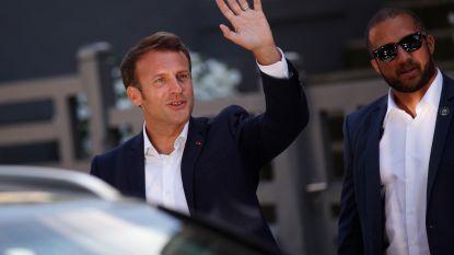 """Macron """"ongerust over lage opkomst"""" lokale Franse verkiezingen"""