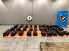 1050 kilo cocaïne gevonden in lading haarproducten