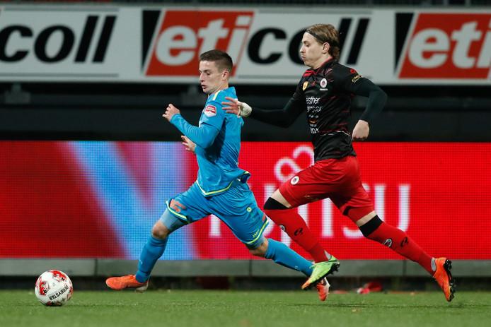 De Kralingers werden in eigen huis geklopt door FC Volendam: 1-2.