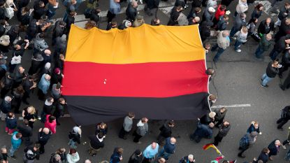 18 gewonden en 37 strafbare feiten tijdens betogingen Chemnitz