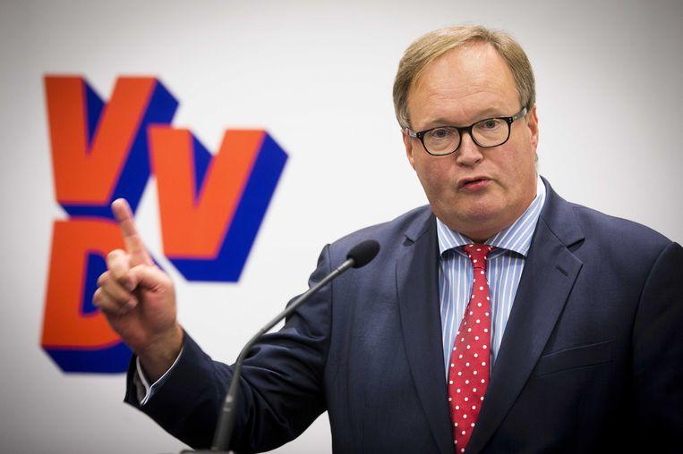 'Laat Hans van Baalen vechten voor de burgers van Europa!' Beeld anp