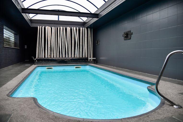 """""""Het hele wellness complex is volledige gerenoveerd. Niets doet nu nog denken aan de sauna van vroeger"""", zegt Gwen."""