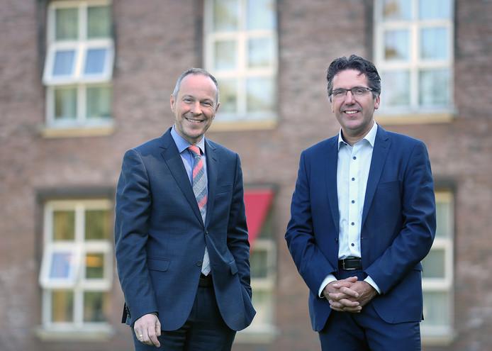 Stephan Valk (rechts), voorzitter van Parnassia Groep: ,,Zo werkt de marktwerking in de zorg.''