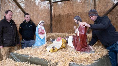 Vandalen slaan mogelijk 150 jaar oude beelden kerststal stuk