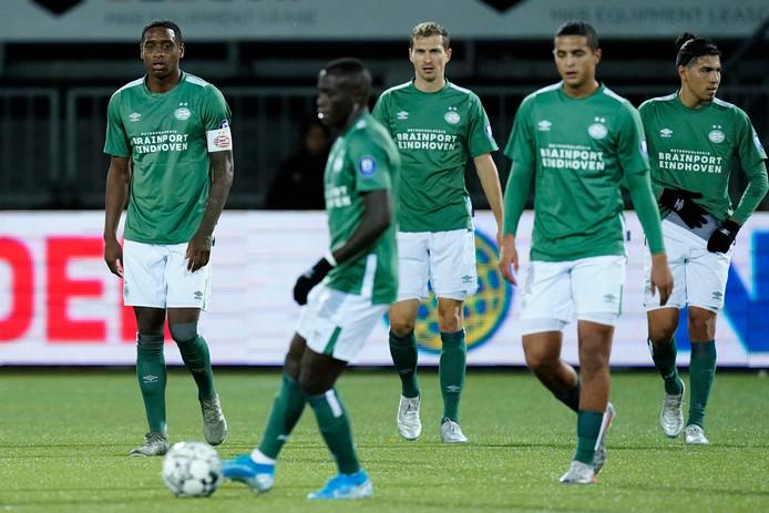 PSV leed zaterdag opnieuw puntenverlies, nu bij Sparta (2-2).