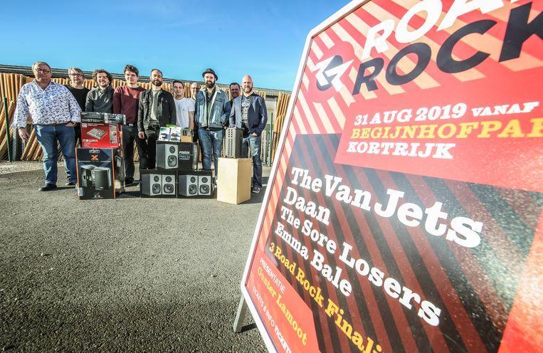 Road Rock is voortaan niet langer gratis, maar brengt dit keer wel 4 grote namen naar Kortrijk.