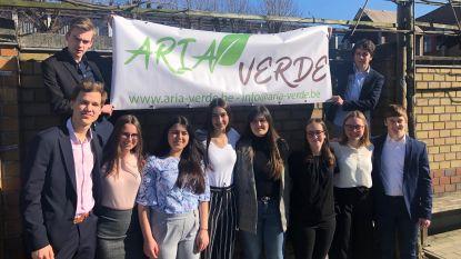 Leerlingen Pius X richten mini-onderneming Aria-Verde op