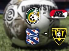 Fortuna - AZ & Heerenveen - VVV