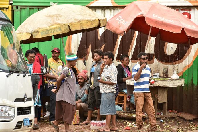 Foto ter illustratie. Papoea Nieuw-Guinea kampt met een nationaal probleem.