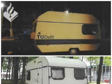 Mysterie rond 'gevaarlijke' caravan op terrein TU Delft opgelost
