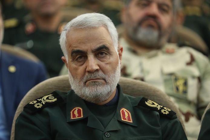 Le général iranien Qassem Soleimani