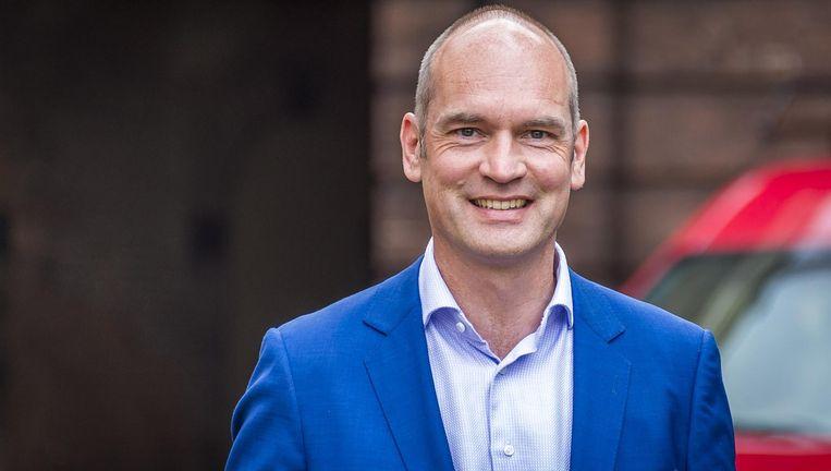 Gert-Jan Segers is fractieleider van de ChristenUnie in de Tweede Kamer en lijstduwer in Amersfoort (plek 30). Beeld ANP