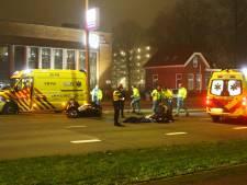 Motorscooter crasht op Hogeweg in Amersfoort