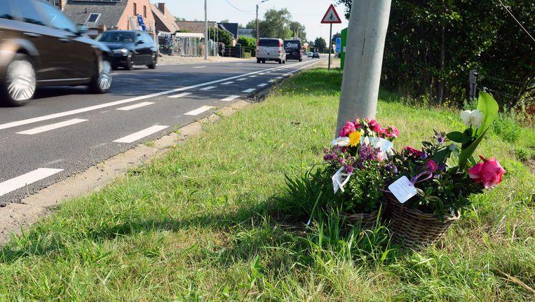 De plek waar Noah Mortier werd doodgereden. Maxim D. (25) uit Haacht, die in 2015 de 16-jarige Noah Mortier in Leuven doodreed, is afgelopen november betrapt op rijden onder invloed. Nochtans riskeert hij in mei een jarenlang rijverbod en een zware celstraf, als het dodelijke vluchtmisdrijf in beroep wordt behandeld.