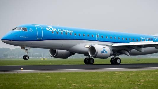 De KLM Cityhopper.
