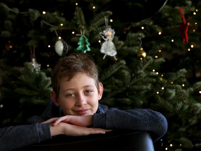 Dit is Gerrit. Hij is 12 en heeft hersenstamkanker. Hij wil zijn verhaal doen, zodat mensen zich hem later herinneren.