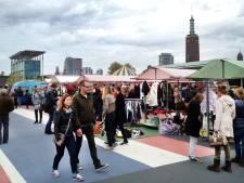 Gemeente laaiend op Swan Market: kramen beschadigen groen op Parklaan