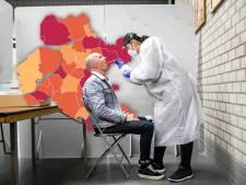 KAART | Weer meer rode gemeenten en opmerkelijke daling in Flevoland
