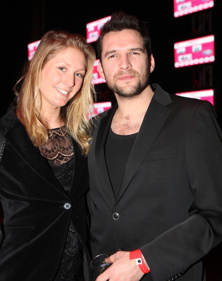 Roel Vanderstukken en zijn vrouw Anne-Sofie Balsing.