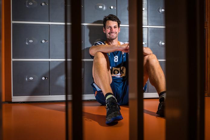 Wouter Klapwijk komt als speler van CSV terug in de volleybalcompetitie.