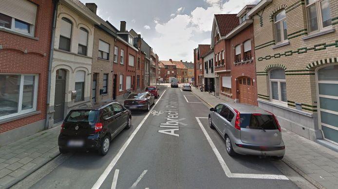 De situatie in de Albrecht Rodenbachstraat wordt aangepast in het voordeel van de fietsers.