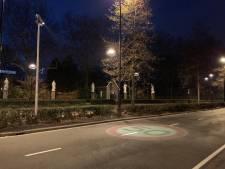 Straatbeeld: Verkeersbord-projectie op de cityring