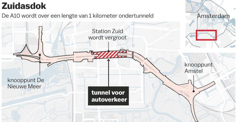 Hier komt de nieuwe tunnel Beeld Laura van der Bijl