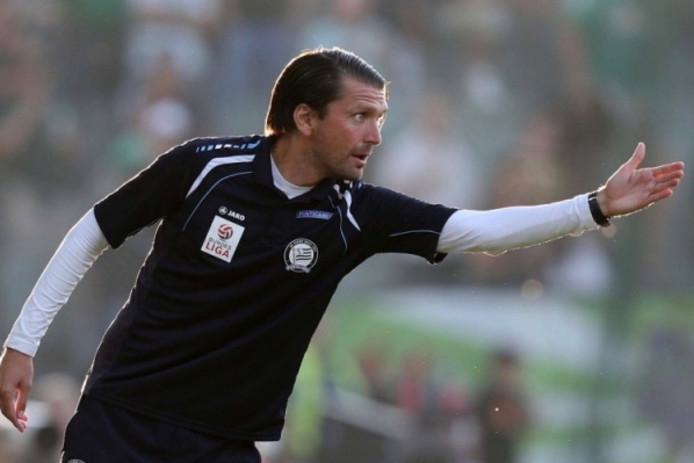 Peter Hyballa zou wel eens de nieuwe trainer kunnen worden van NEC.