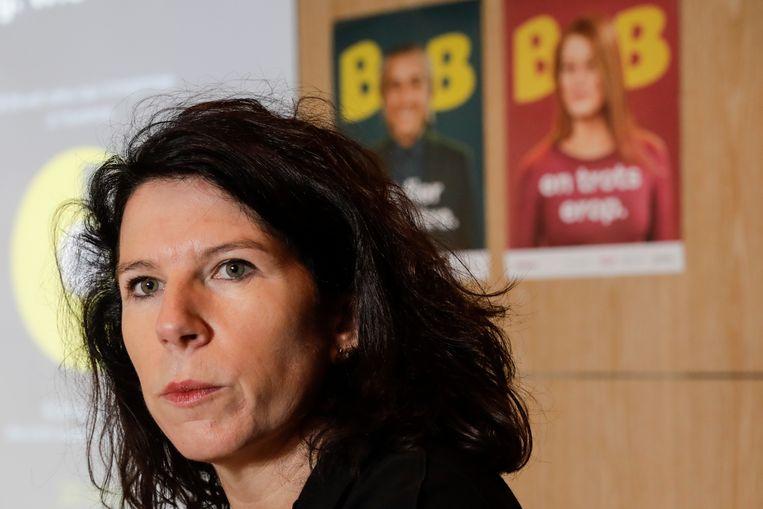 Brussels staatssecretaris Bianca Debaets staat tweede op de cdH-CD&V+-lijst.