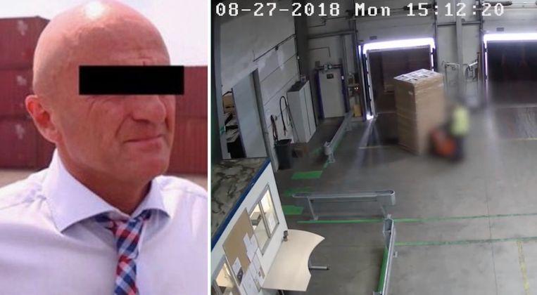 Transportdirecteur Paul V.W. (56) zou samen met zijn secretaresse 10.000 kilo cocaïne ingevoerd hebben vanuit Colombia.
