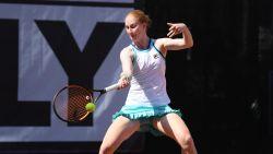 Van Uytvanck opent tegen jonge Russin op WTA Bronx
