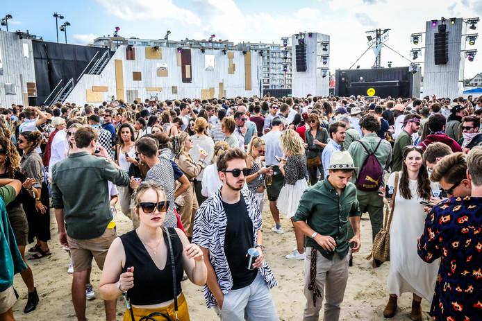 De festivalgangers genoten ten volle.