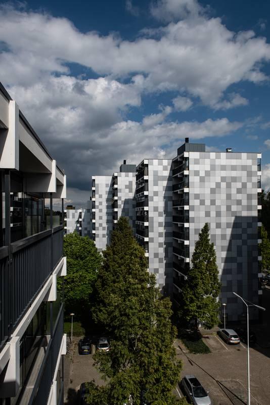 Wooncomplex De Valkenaer Lankforst was een van de complexen met brandgevaarlijke gevelplaten. De gemeente heeft nog 62 panden gevonden.