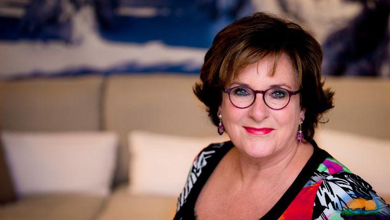 Portret van Catherine Keyl voor de lancering van haar glossy 'Catherine nu' op 25 februari 2013. Beeld anp