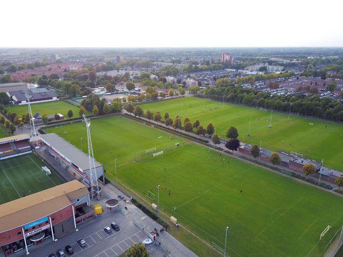 Sportpark De Braak, waar de Helmondse voetbalclub SV De Braak gehuisvest is.