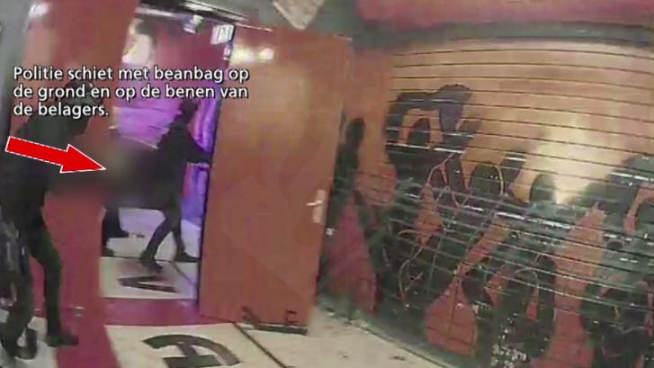 Heftige beelden: dit filmde bodycam van politie bij inval in home Vak-P