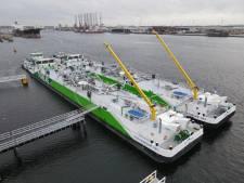 Binnenvaartschepen kunnen vanaf februari overal in Antwerpse haven LNG tanken