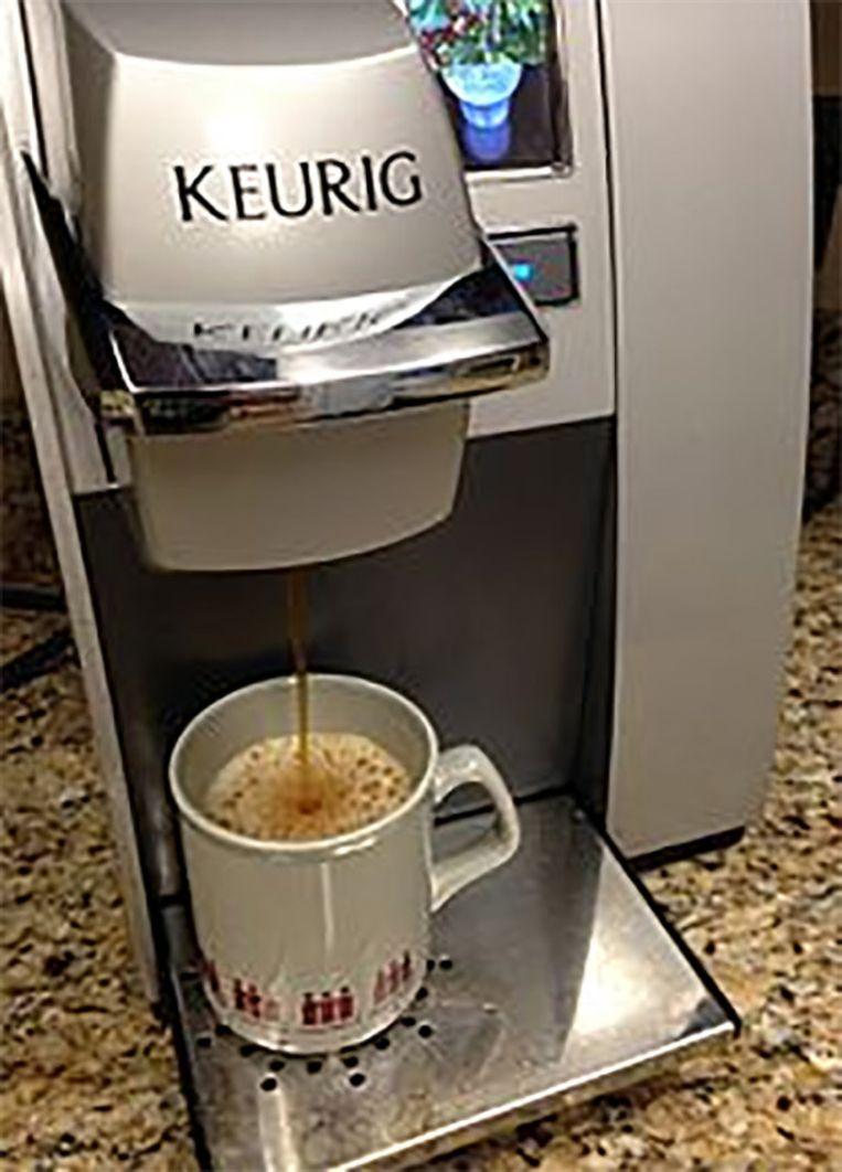 Eén op drie Amerikaanse gezinnen heeft een 'Keurig' koffiemachine staan.