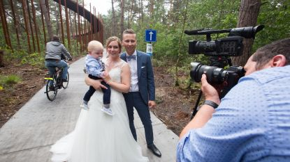 Heel Limburg wil meteen tussen de bomen fietsen (en trouwen)