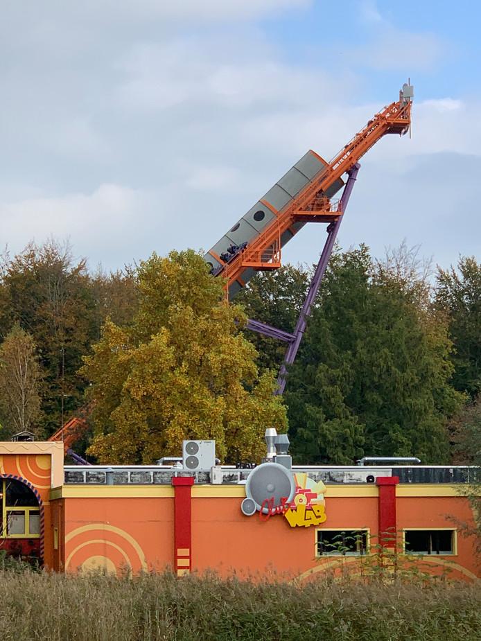 De achtbaan Speed Of Sound in pretpark Walibi had te maken met een 'miscatch'.