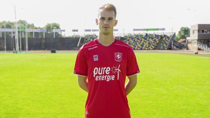 Vaclav Cerny stond maandagmorgen voor het eerst op het veld bij FC Twente.
