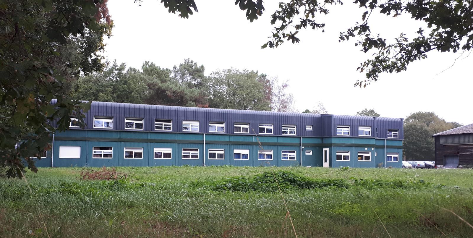 Het achterterrein van Fercheval met de eind 2105 bijgeplaatste units.