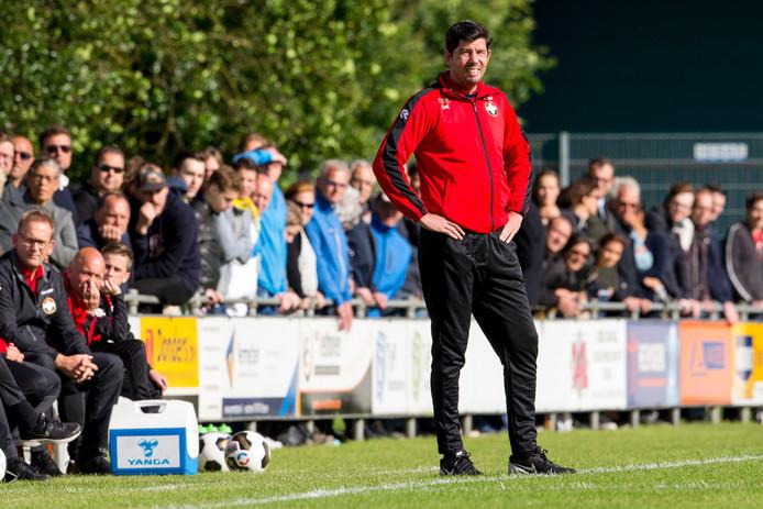 Willem II-coach Erwin van de Looi